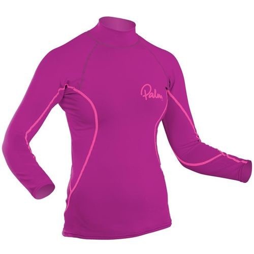 Palm Rash Guard Frauen-Langarm